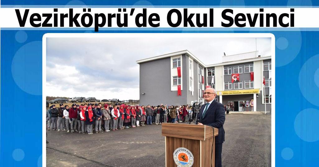 """""""ADEKA Çok Programlı Anadolu Lisesi"""" Açıldı"""