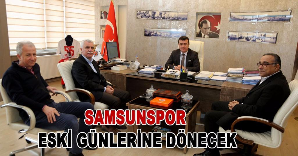 Erkut Tutu, Atakum Belediye Başkanı İshak Taşçı'yı ziyaret etti.