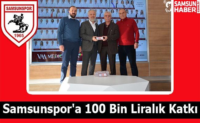 Samsunspor'a 100 Bin Liralık Katkı