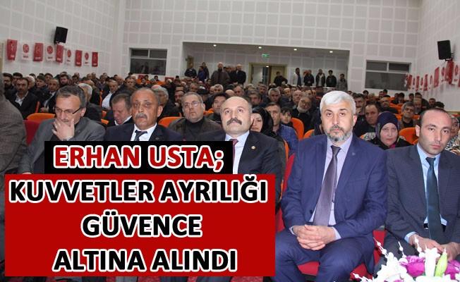 Erhan Usta; Samsun'un Havza İlçesinde Partililer ile bir Araya Geldi.