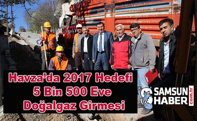 2017 Hedefi 5 Bin 500 Eve Doğalgaz Girmesi