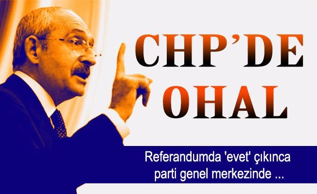 CHP'de OHAL