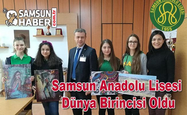 Samsun Anadolu Lisesi Dünya Birincisi Oldu