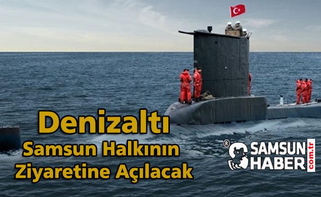 19 Mayıs'ta Samsun'a Denizaltı Geliyor