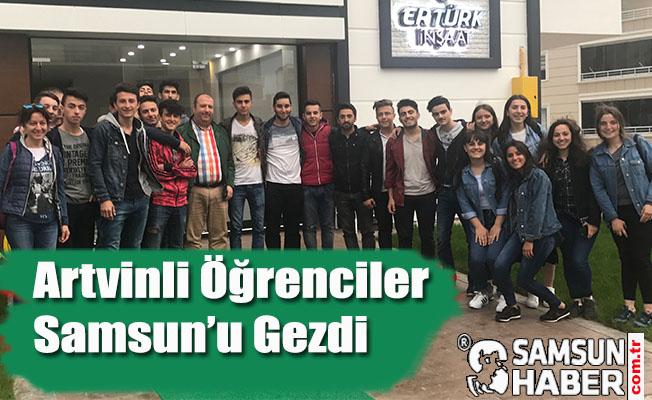 Artvinli Öğrenciler Samsun'a Hayran Kaldı