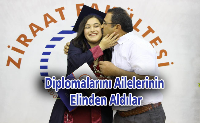 Diplomalarını ailelerinin elinden aldılar
