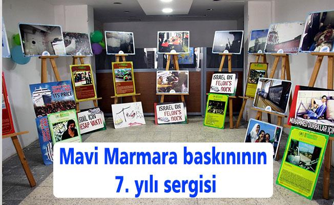 Mavi Marmara baskınının 7. yılı sergisi