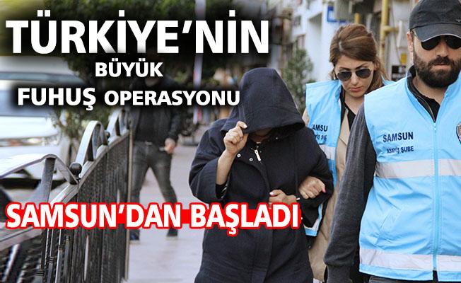 Türkiye'nin en büyük fuhuş operasyonu