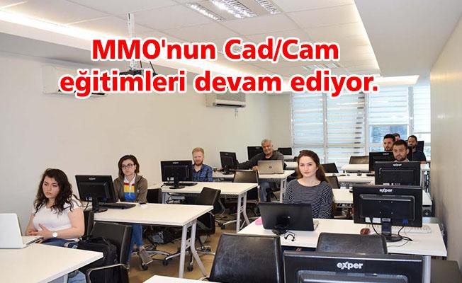 MMO'nun Cad/Cam eğitimleri devam ediyor