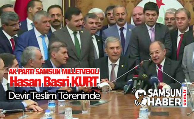 AK Partili Kurt Devir Teslim Töreninde