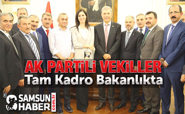 Ak Partili Vekiller Tam Kadro Bakanlıkta