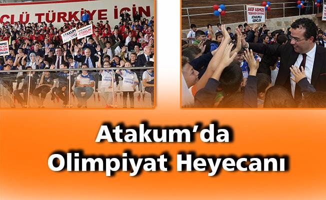 Atakum'da olimpiyat heyecanı