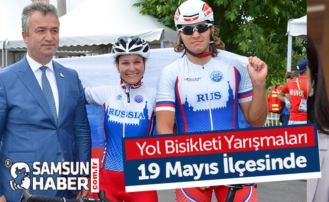 Yol Bisikleti Yarışmaları 19 Mayıs ilçesinde