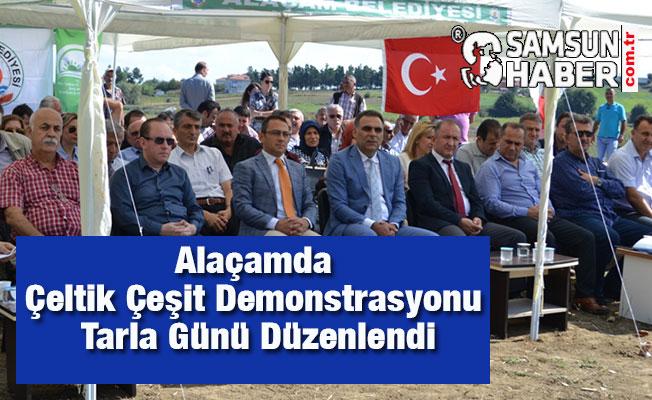 Alaçamda Çeltik Çeşit Demonstrasyonu Tarla Günü Düzenlendi