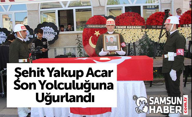 Şehit Yakup Acar, Havza'da Toprağa Verildi