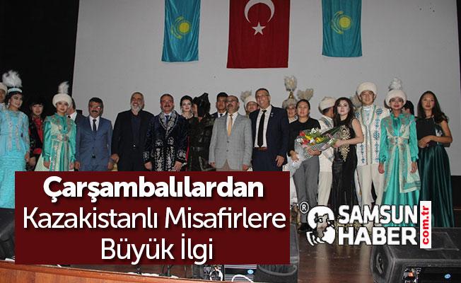 Çarşambalılardan Kazakistanlı Misafirlere Büyük İlgi