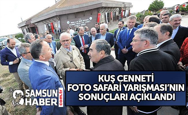 KUŞ CENNETİ FOTO SAFARİ YARIŞMASI'NIN SONUÇLARI AÇIKLANDI