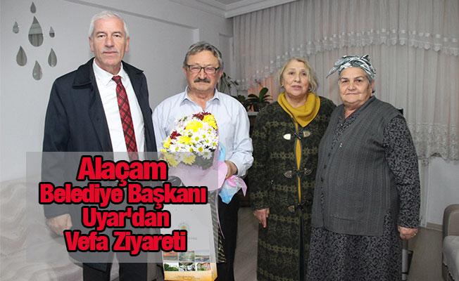 Alaçam Belediye Başkanı  Uyar'dan Vefa Ziyareti