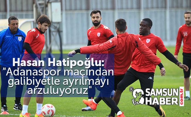 Samsunspor, Adanaspor  Maçına Hazırlıklar Tam Gaz