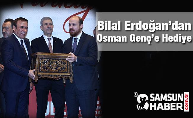 Bilal Erdoğan'dan Osman Genç'e Hediye