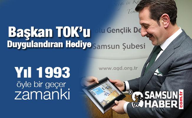 Erdoğan Tok'u Duygulandıran Hediye