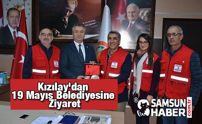 Kızılay'dan 19 Mayıs Belediyesine Ziyaret