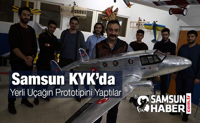 Yerli Uçağın Prototipini Yaptılar