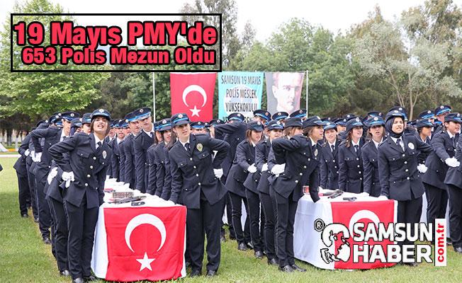 19 Mayıs PMY'de 653 Polis Mezun Oldu