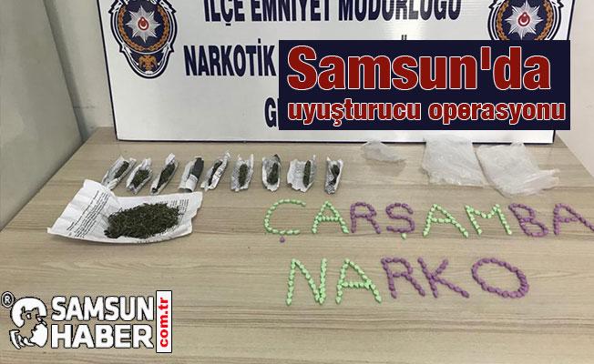 Çarşamba'da Uyuşturucu Operasyonu