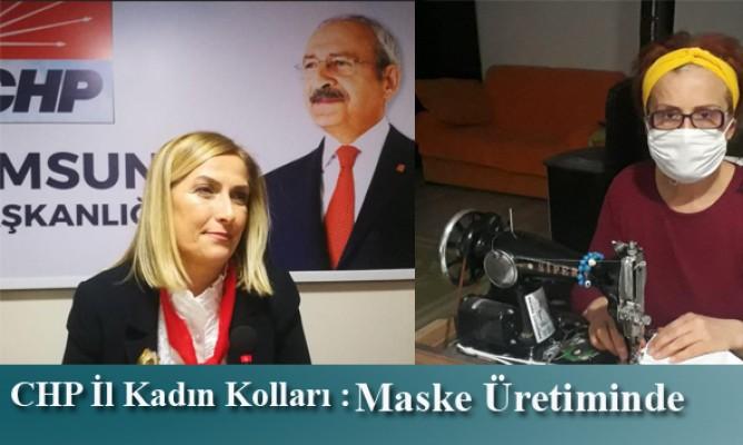 CHP İl Kadın Kolları COVİD-19'la Mücadelede