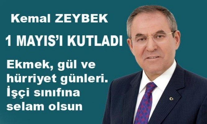 CHP Samsun Milletveki Kemal Zeybek'ten kutlama