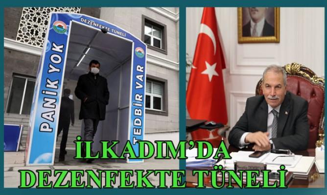 İlkadım Belediye Başkanı Necattin Demirtaştan Dezenfekte Tüneli