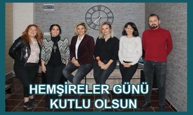 Türk Hemşireler Derneği Samsun Şubesinden Kutlama