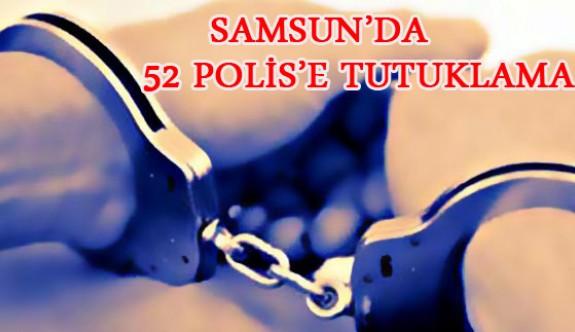Samsun'da FETÖ Operasyonunda 52 Polis Tutuklandı