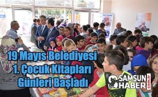 19 Mayıs Belediyesi 1. Çocuk Kitapları Günleri Başladı