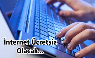 internet ücretsiz olacak