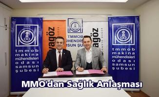 MMO'dan sağlık anlaşması