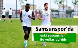 Samsunspor'da eski yabancılar ile yollar ayrıldı