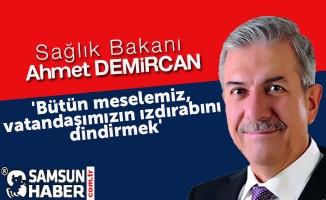 Yeni Bakan Demircan; 'Bütün meselemiz, vatandaşımızın ızdırabını dindirmek'