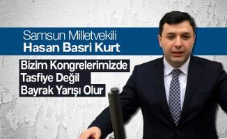 Ak Parti Milletvekili Hasan Basri Kurt Çarşamba'da