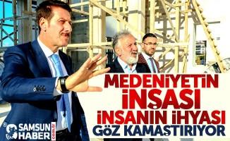 Erdoğan Tok: İlkadım'da Cami ve Külliye kadim medeniyetin öncüsü olacak