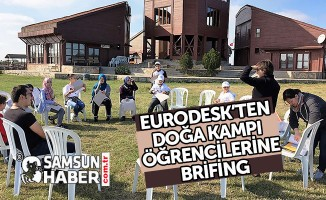 EURODESK'TEN DOĞA KAMPI ÖĞRENCİLERİNE BRİFİNG