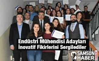OMÜ Endüstri Mühendisi Adayları İnovatif Fikirlerini Sergilediler