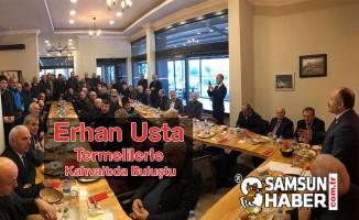 Samsun Milletvekili Erhan Usta, Terme'de