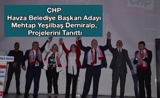 CHP Belediye Başkan Adayı Demiralp, Projelerini Tanıttı