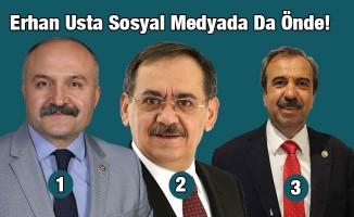 Erhan Usta Sosyal Medyada Da Önde!