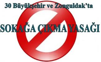 Samsun'da 2 Gün Sokağa Çıkma Yasağı