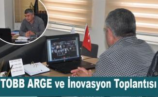 TOBB ARGE ve İnovasyon Kurulu toplantısı Yapıldı