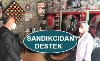 Canik Belediye Başkanı İbrahim Sandıkcıdan Destek