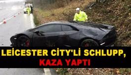 Leicester City'li Schlupp, Son Model Aracıyla Kaza Yaptı